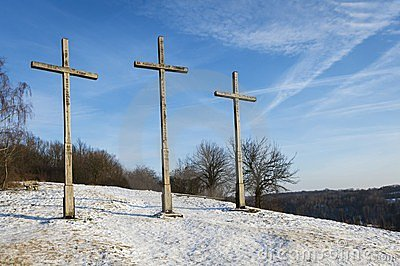 Three Crosses Hill in Kazimierz Dolny