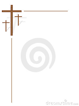 Free Three Crosses On White Stock Photos - 8341833