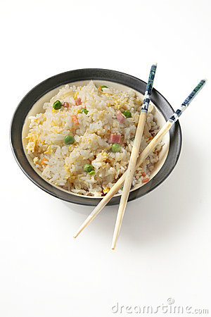 Three delights chinese rice