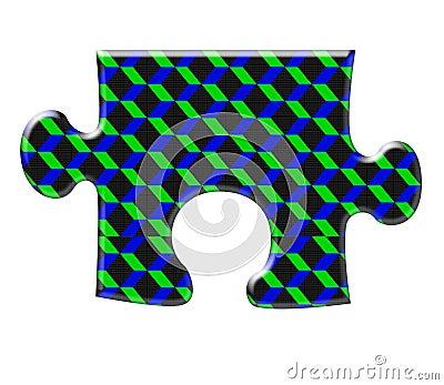 Three diamensional puzzle