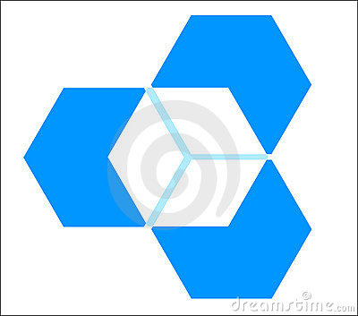 Three Dimensional Cube Stock Images - Image: 10313314