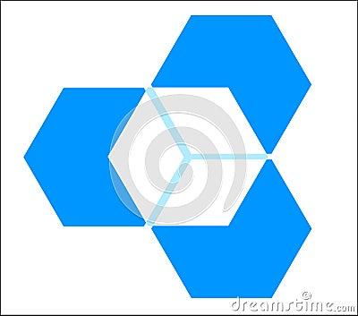 Three dimensional cube