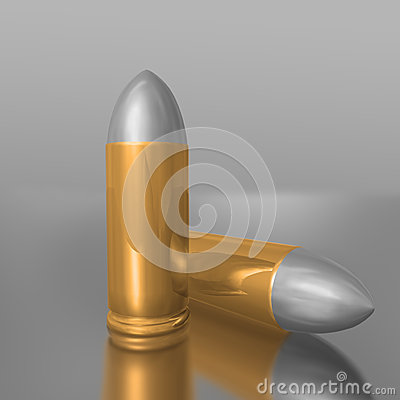 Three-dimensional images of bullets