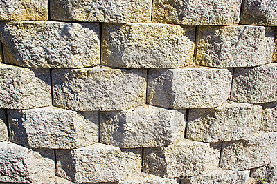 Three dimensional Stone Wall
