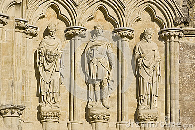Three English Saints, Salisbury Cathedral