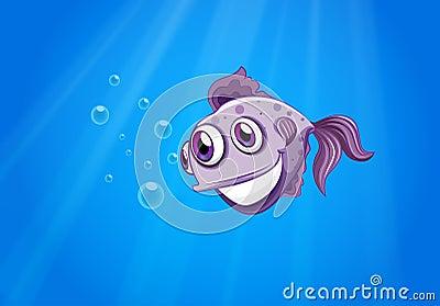 A three-eyed fish