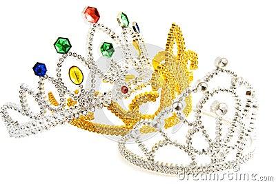 Three fancy crowns