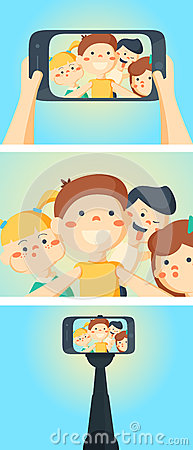 Free Three Flat Horizontal Banners Set Abstract Isolated Vector Illustration Royalty Free Stock Photography - 62760447