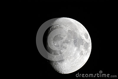 Three fourth of the Moon phase