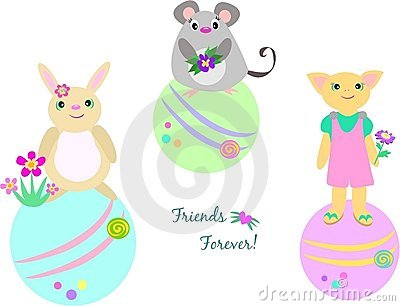 Three Friends Forever