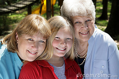 Three Generations in Park