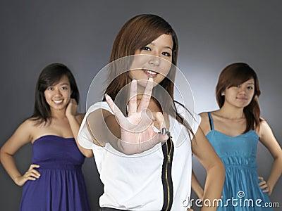 Three Girls as Best friends