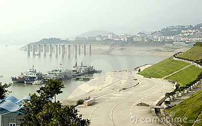 Three Gorges Dam Editorial Image