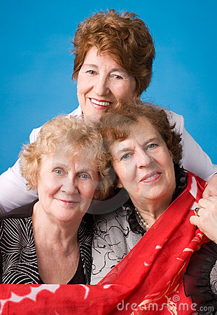 Free Three Grandmothers. Royalty Free Stock Photo - 5277745