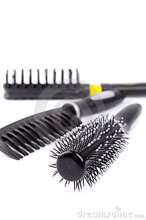 Free Three Hairbrushes Stock Photography - 10476312