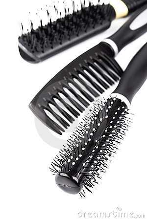 Free Three Hairbrushes Stock Photos - 9208543