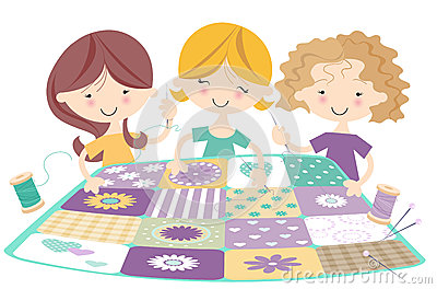Three happy Girls Quilting/Sewing