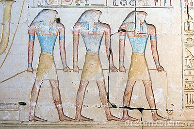 Three Horus Gods
