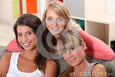 Three housemates