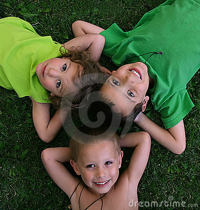 Free Three Kids Stock Photos - 5730803
