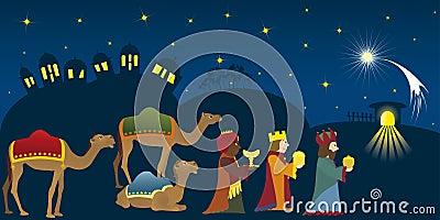 Three Kings in Bethlehem