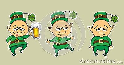 Three leprechaun