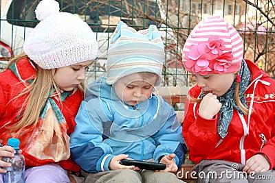 Three lovely kids