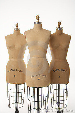 Free Three Mannequins Stock Photography - 2681882
