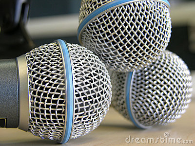 Three Microphones