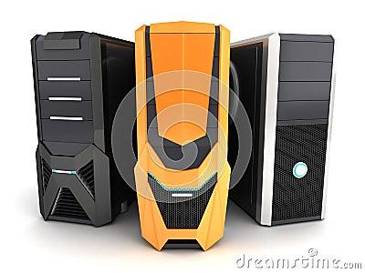 Three modern computer