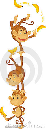 Free Three Monkeys Stock Image - 8847981