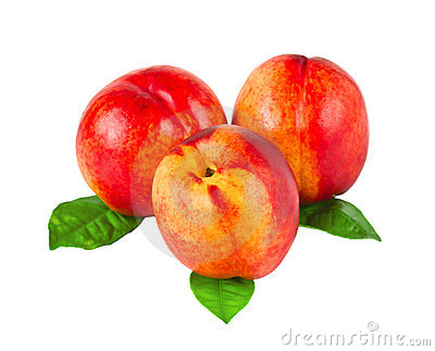Three nectarines