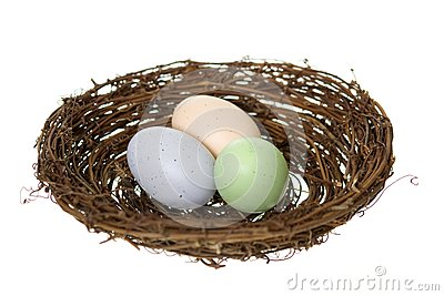 Three Nest Eggs