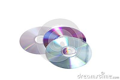 Three old cd s