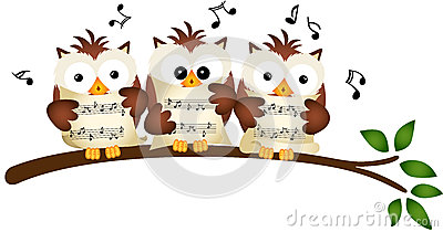 Three Owls Choir Singing