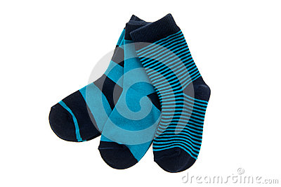 Three pairs of socks