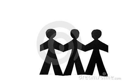 Three Paper Dolls - Team