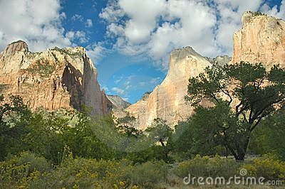 The Three Patriarchs, Zion