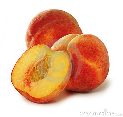 Free Three Peaches Royalty Free Stock Images - 395869