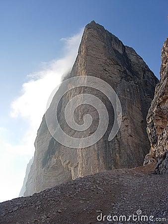 Three peaks of Lavaredo - ovest peak