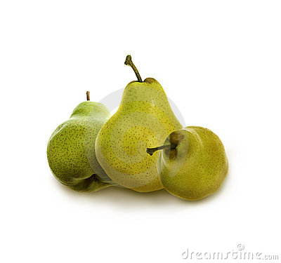 Free Three Pears Royalty Free Stock Images - 6869489