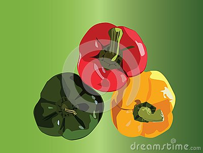 Three peppers
