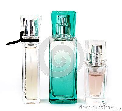 Free Three Perfumes Stock Photos - 12316283