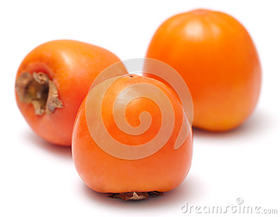 The three persimmon
