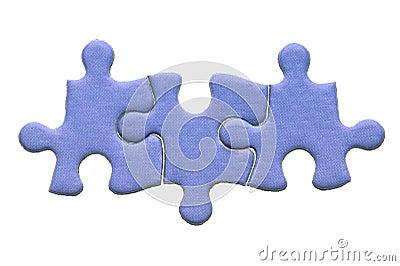 Three piece jigsaw