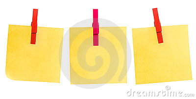 Three post it