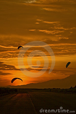 Three Power Kites