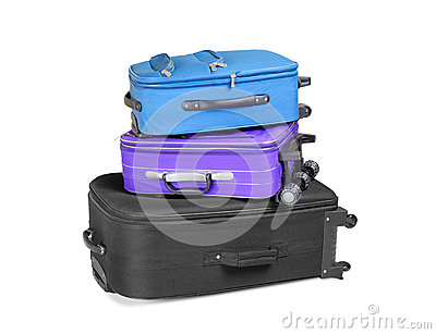 Three Ready Suitcases