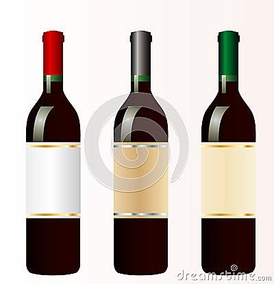 Three red wines