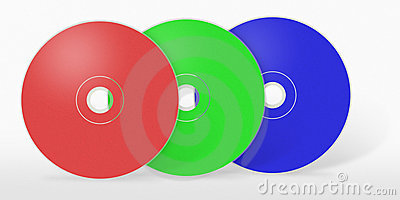 Three RGB cd